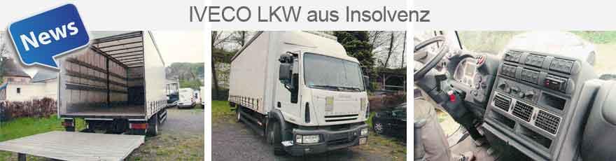 Iveco LKW aus Insolvenz