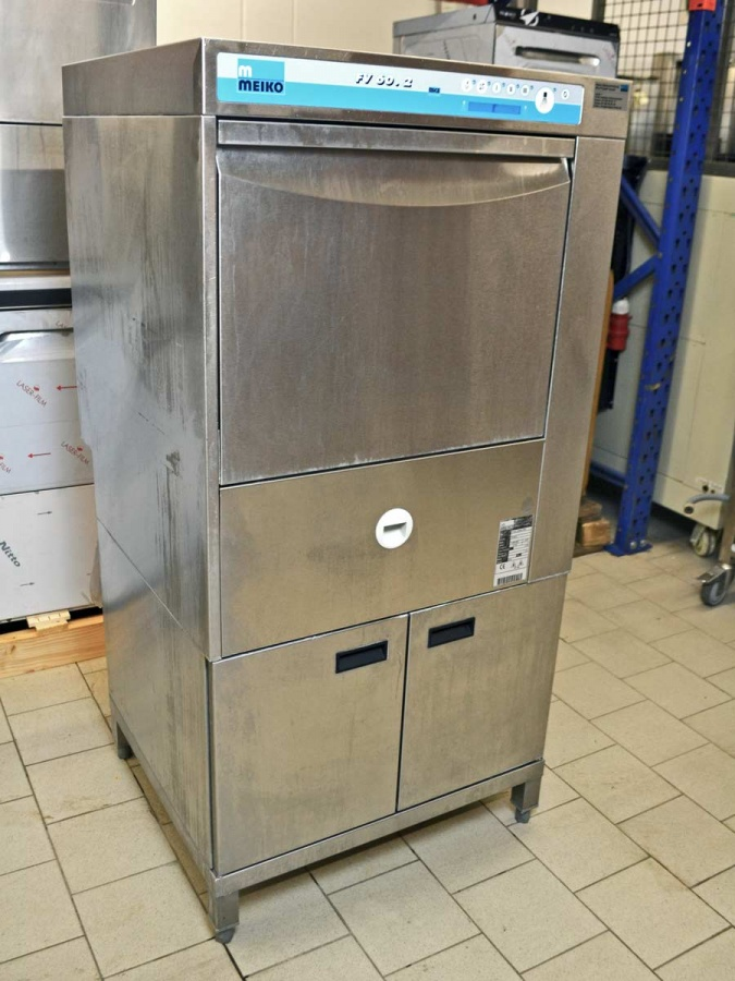 Geschirrspulmaschine meiko fv 602 korbmass 50 x 50 cm for Geschirrspülmaschine 60 cm