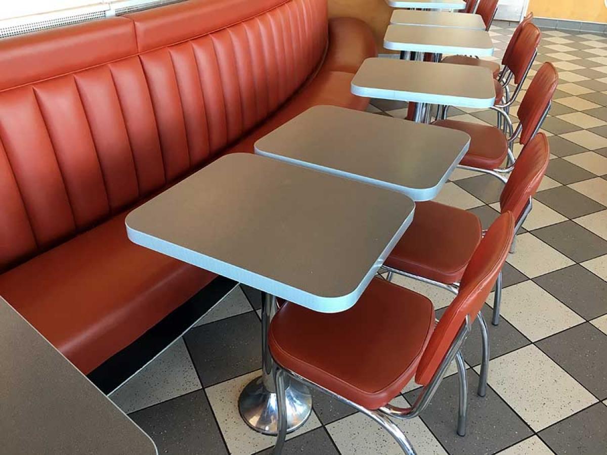 Möbel Dinerausstattung American Diner Style
