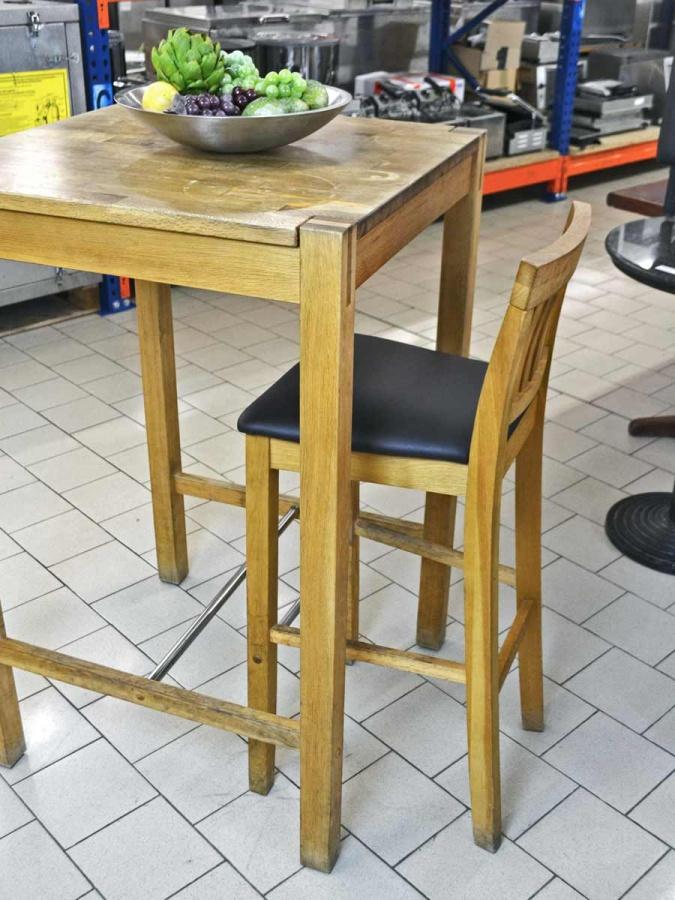 Barm bel set 15 barhocker 5 stehtische massivholz for Massivholz barhocker