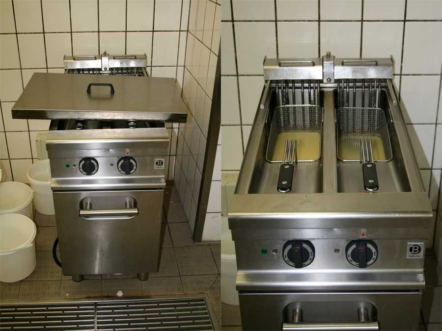 Edelstahl kche gebraucht latest inspiration with for Gunstige kuchenmobel