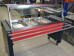 Rieber Rollito Bain Marie 4 GN 1/1-210 universelles...