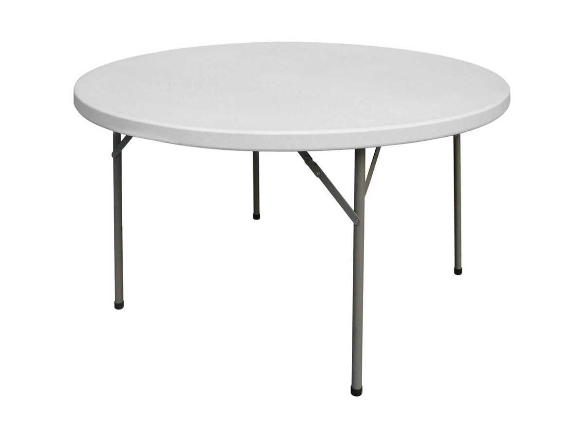 gastro buffettisch rund klappbar 1150 mm h he 740 mm f r innen 64 00. Black Bedroom Furniture Sets. Home Design Ideas