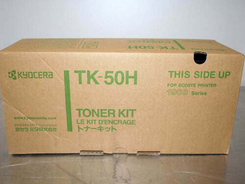 Kyocera 370QA0KX TK-50H Black Toner Cartridge