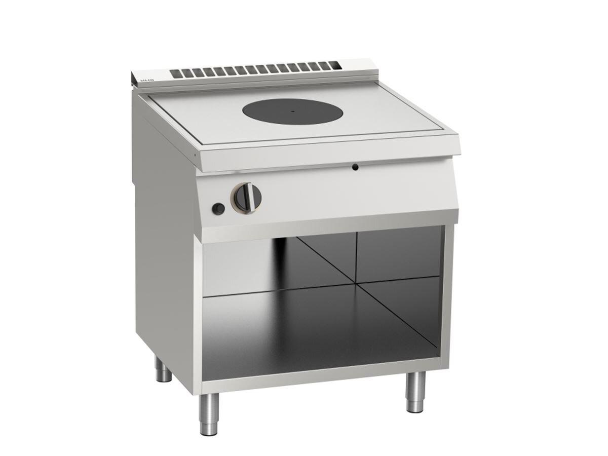 Gas-Kochfläche Glühplattenherd, 14 kW, offener Unterbau, BTH 80 x 90 x 90 cmFinanzierungsrezepte - mit den besten Zutaten