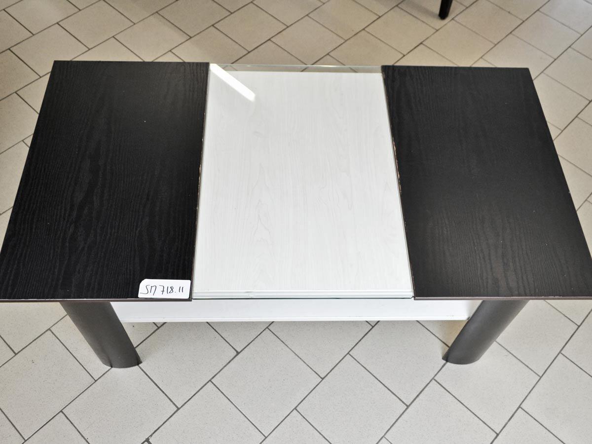 gastro lounge tisch flach mit glaseinsatz und. Black Bedroom Furniture Sets. Home Design Ideas